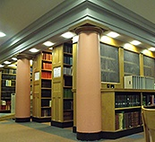 View of one of the Sackler Library reading rooms